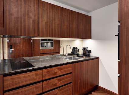 Presidential Park Suite Kitchen Area