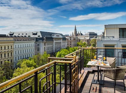 Penthouse Royal Suite Balcony