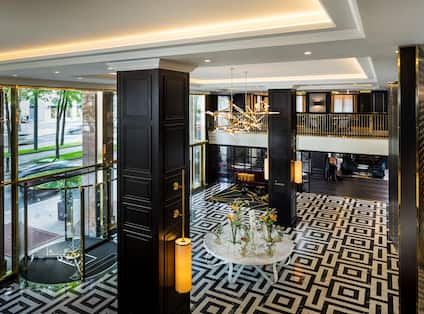 Lobby View from Above