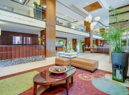 Front Desk-Lobby View