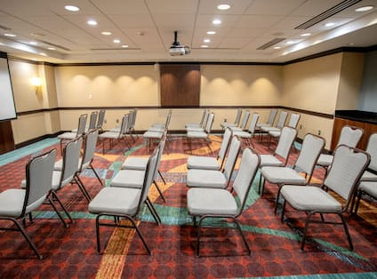 Theater Style Setup Meeting Room