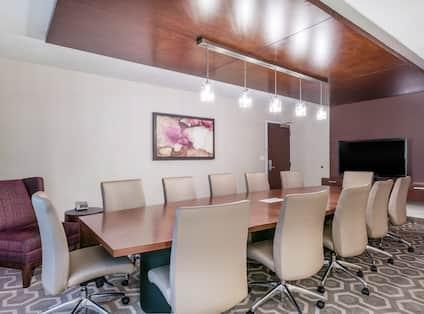 Executive Boardroom with TV
