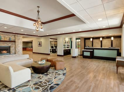 Front Desk And Lobby Seating