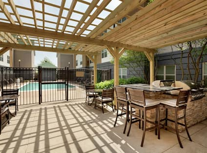 Pool Patio With Grill Area