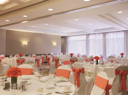 Wedding Ballroom Setup