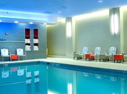 Indoor Pool Side View