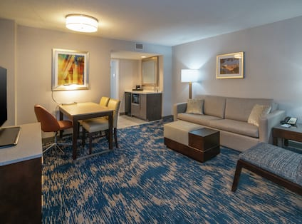Two Double Beds in Guest Suite