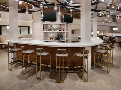 Lobby Bar with Counter Seating
