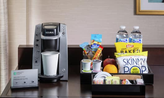 Premium Suite Amenity Offerings Replenished Daily