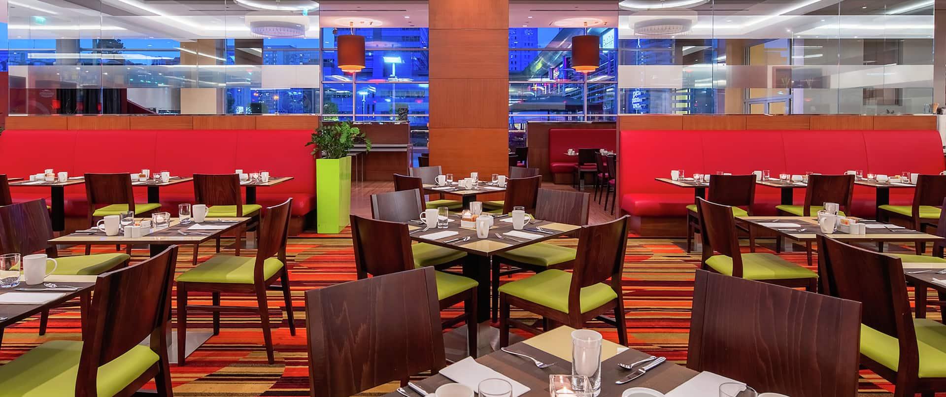Meza Restaurant Dining Area