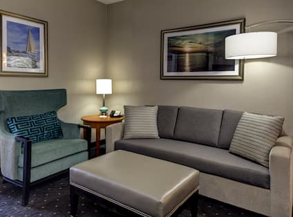 Suite Seating Area