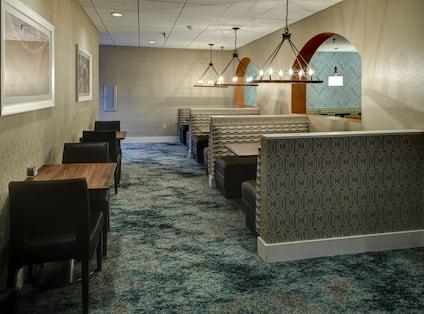 Atrium and Lounge Area