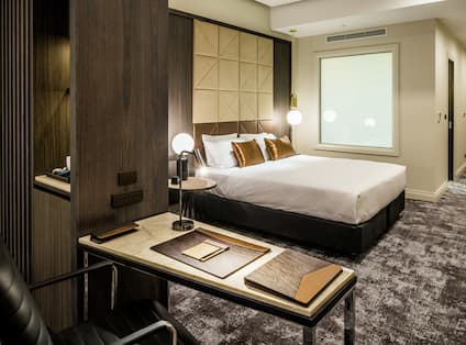 Junior Suite With Work Desk and King Bed