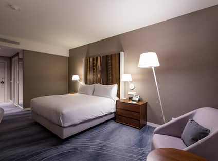 Hotel Room with Soft Chair