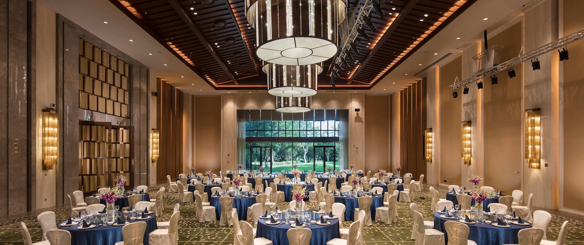 Event Setup In Ballroom