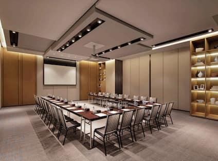 Baoding U-shape Meeting Room