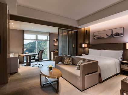 Deluxe Room with Bed and Sofa