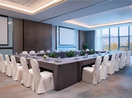 Meeting Room Hollow Shape