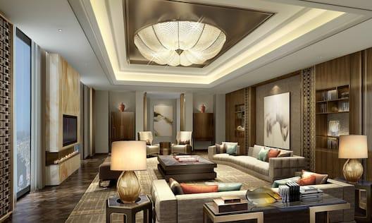 Pres Suite Living Room