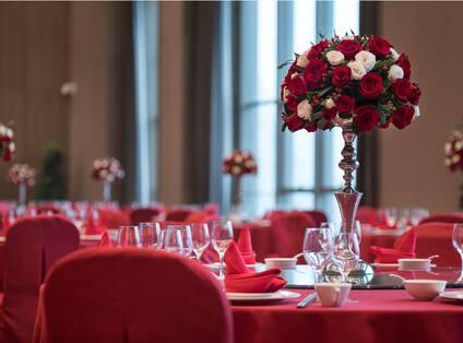 Chinese Wedding Table Setting