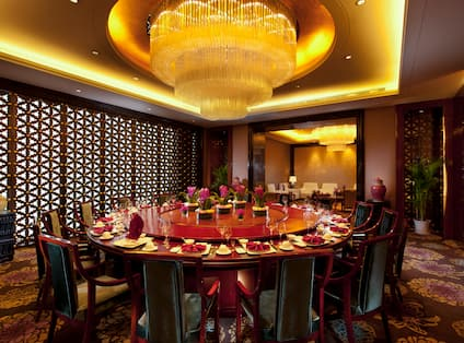 Wanda private dining room