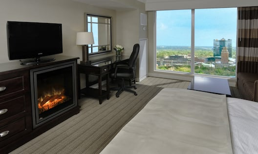 Two Bedroom Suite with City View