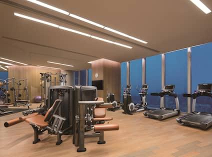 Hotel Fitness Area