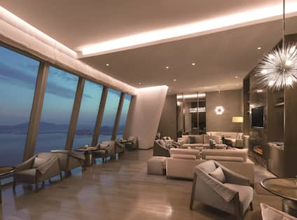 Executive Lounge with comfortable seating
