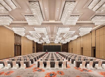 Grand Ballroom Classroom Set Up