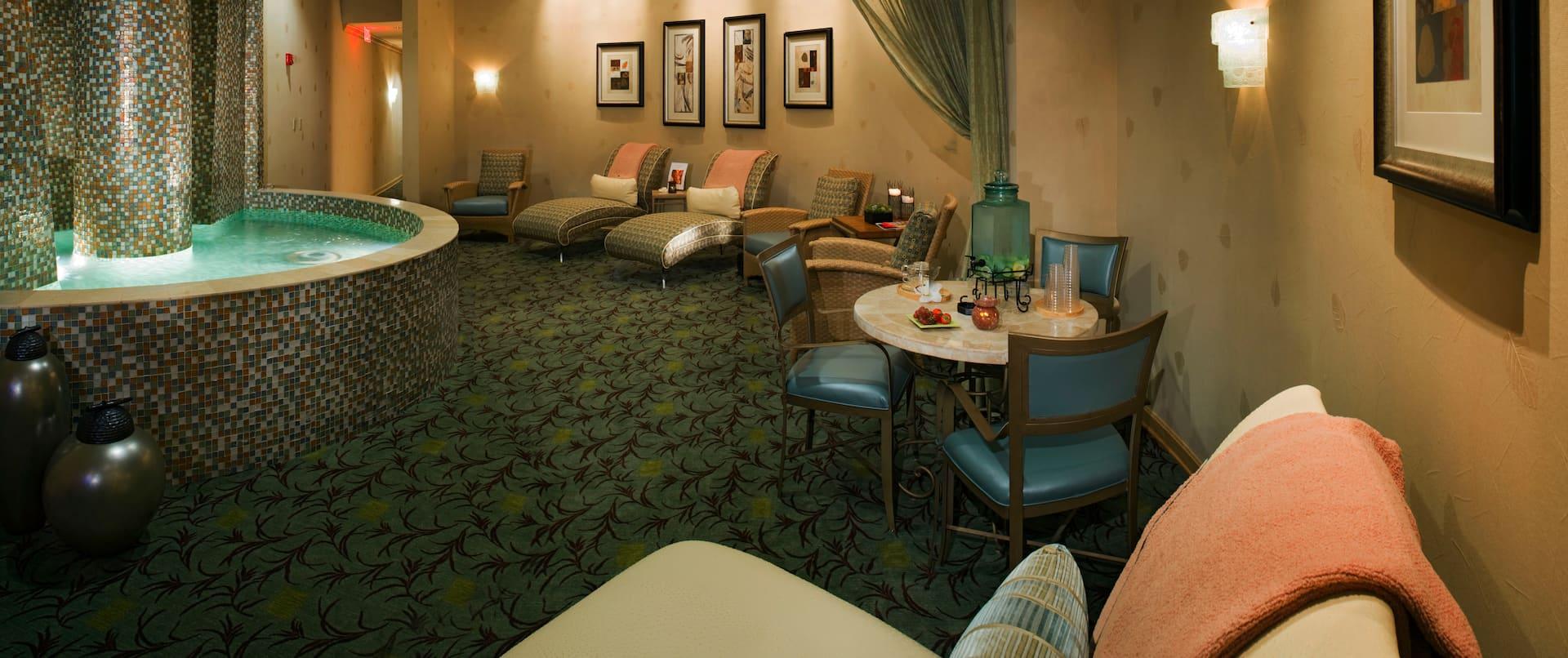 Spa Lounge Area