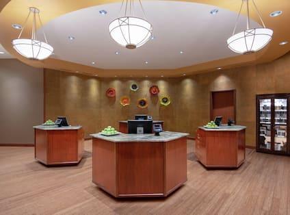 Reception Desk Area