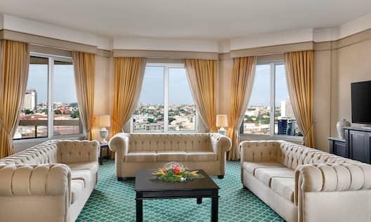 Three bedroom Presidential Suite Living