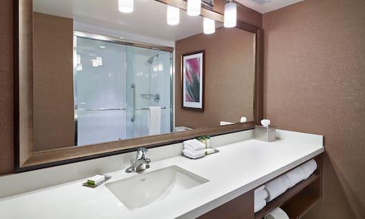 Standard Room Shower