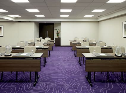 Meeting Room with Classroom Layout