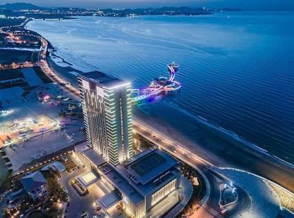 Hotel Exterior Night View