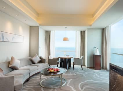 Sea View Suite Living Room