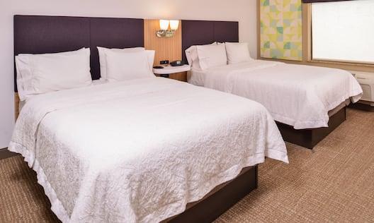 Two Queen Beds Guest Bedroom