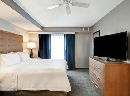 King Mobility Accessible Suite Bedroom
