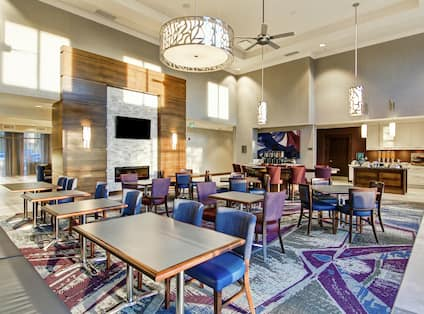 The Lodge Dining Area