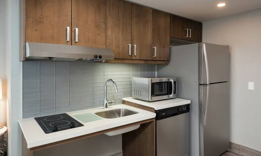 Accessible King Suite with Kitchen and Room Technology