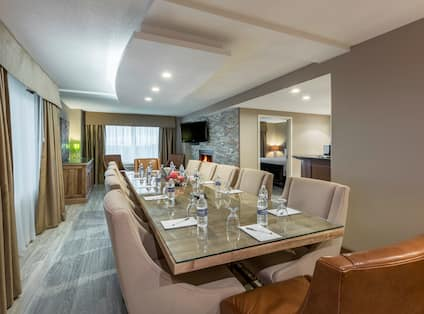 Suite with Boardroom Table