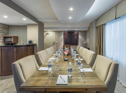 Suite with Board Room Table