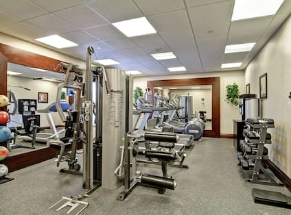 Fitness Center for Hotel Guests