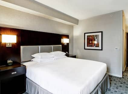 Guest Room with 1 King sized Bed