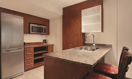 2 Bedroom Accessible Suite - Kitchen Area