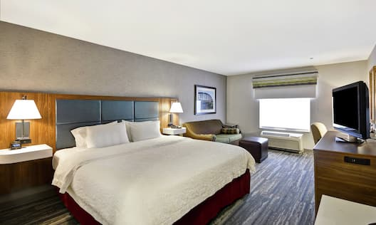 Guest Room with King Bed and Sofa Bed