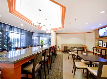 Lobby Seating Area View