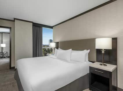 King deluxe suite, high floor