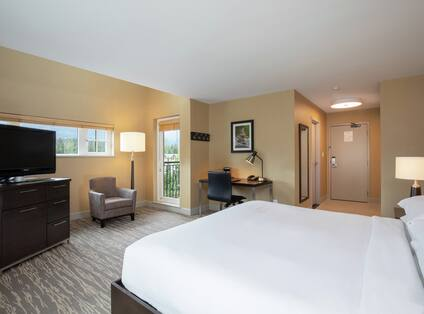 Studio Suite with King Bed and Kitchenette