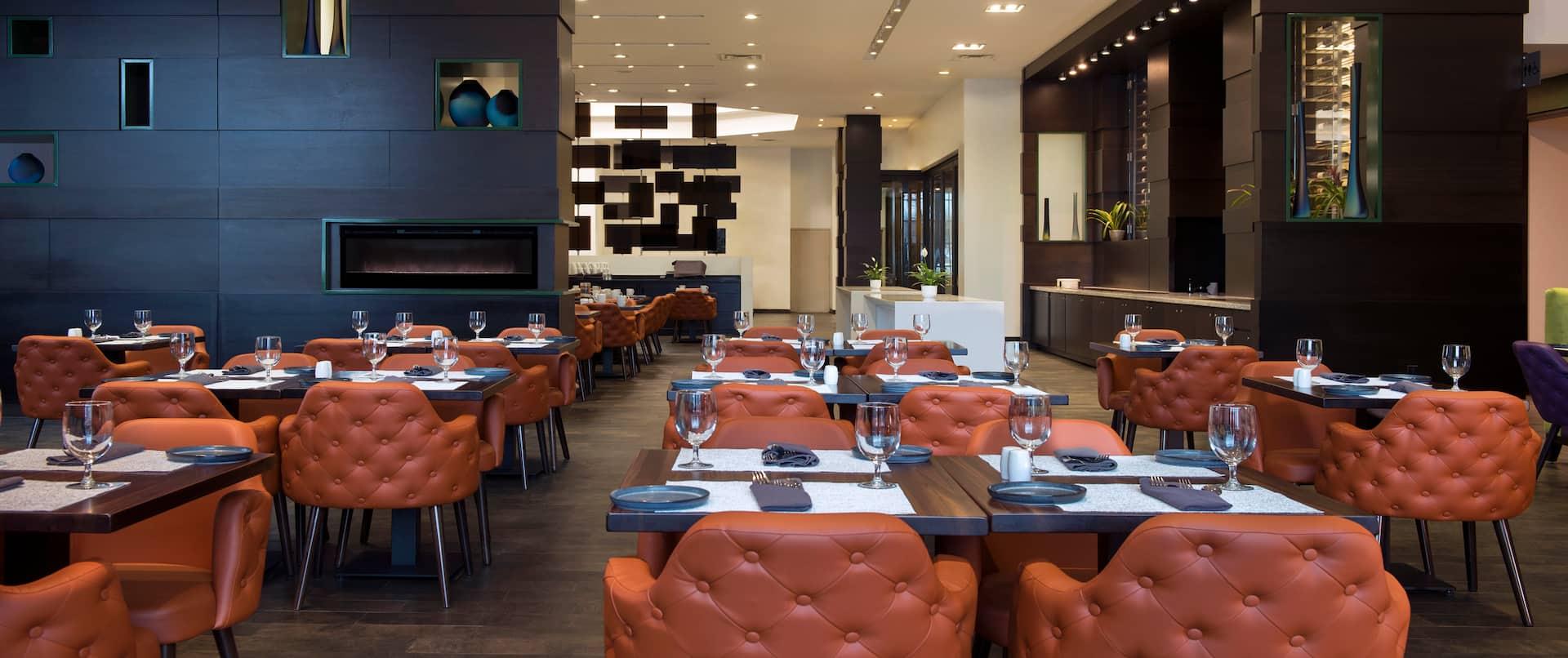 Essence of Unionville Restaurant Dining Area
